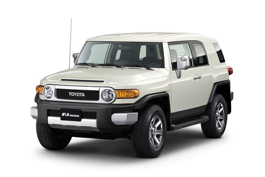 Cruising for a bruising with the Toyota FJ Cruiser