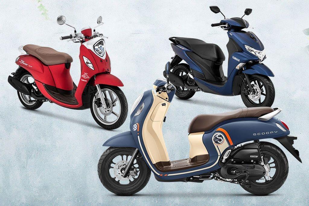 Komparasi Honda All New Scoopy Vs Yamaha Fino Vs Yamaha Freego