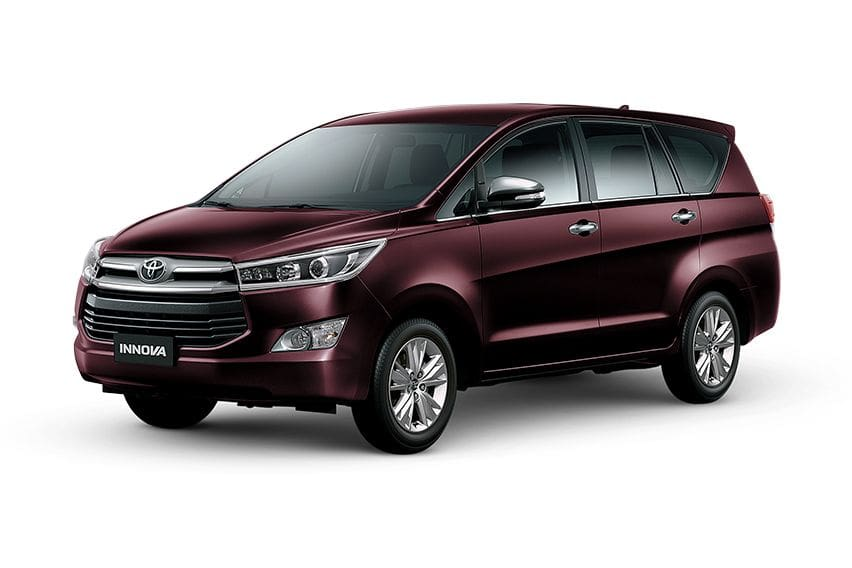 The king of MPVs: Checking out the Toyota Innova variants