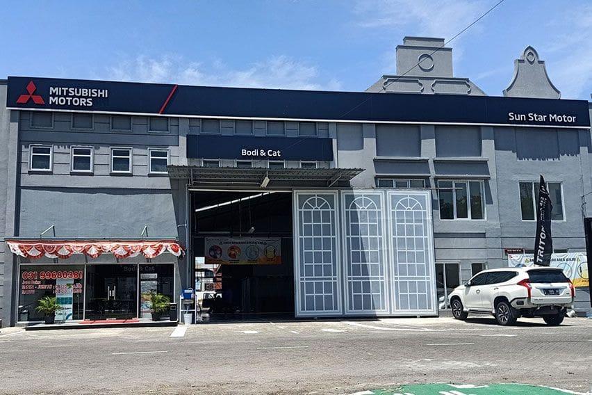 Mitsubishi Motors Tambah Dealer dan Fasilitas Bodi dan Cat di Jawa Timur