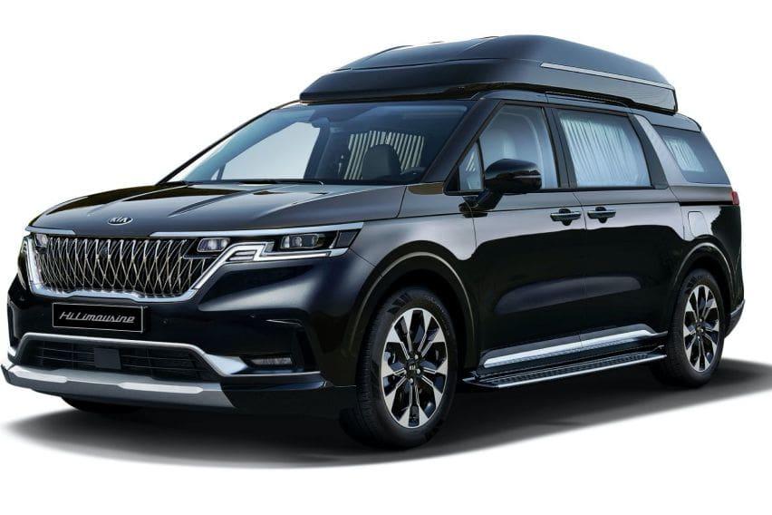 2021 Kia Carnival gets a 'Hi Limousine' variant