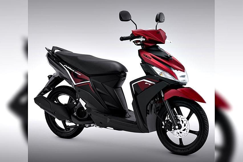 Yamaha Mio M3 125 metallic red