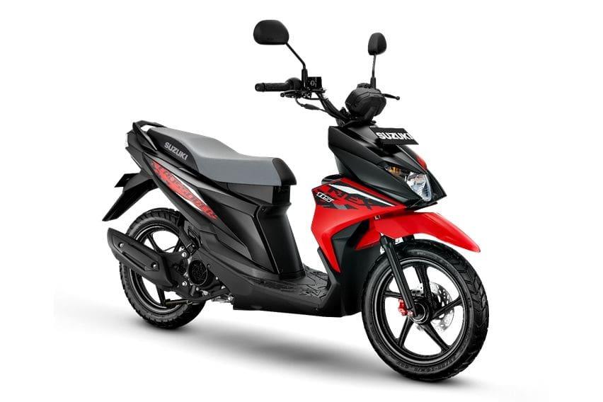 Intip Perbedaan Suzuki Nex Crossover dengan Nex II Cross