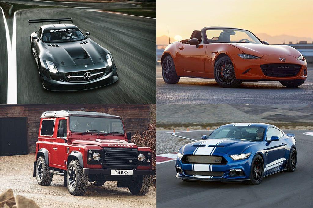 Deretan 12 Mobil Keren Edisi Khusus Ulang Tahun