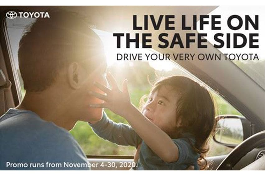 'Live Life on the Safe Side' with Toyota PH's Nov. deals