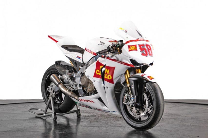 Honda CBR1000RR Peninggalan Marco Simoncelli Dijual Rp 807 Juta