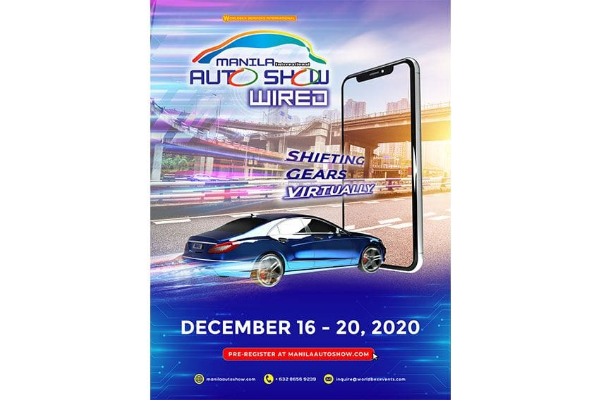 Manila Int'l Auto Show 2020 goes virtual this Dec.