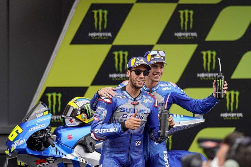 MotoGP 2021: Monster Energy Dukung Penuh Tim Suzuki Ecstar