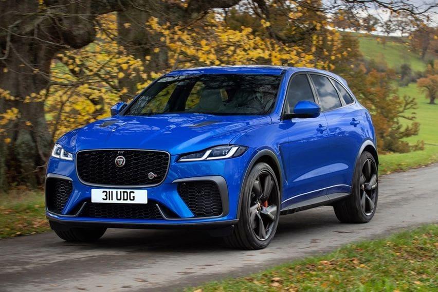 Jaguar F-Pace SVR Anyar Bawa Segudang Penyempurnaan Potensi