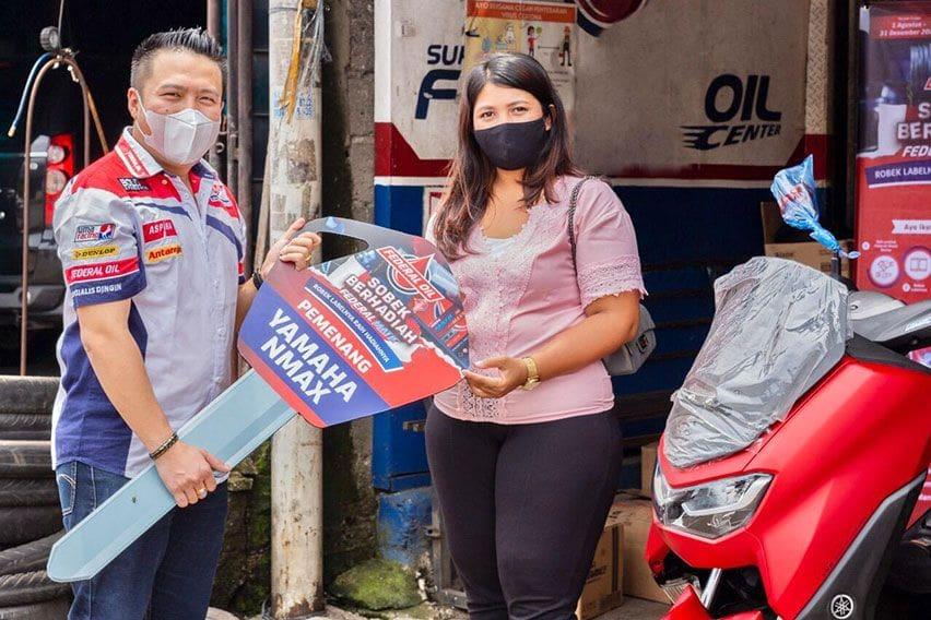 Rawat Motor dan Dapatkan Kejutan di Program Sobek Berhadiah Federal Oil