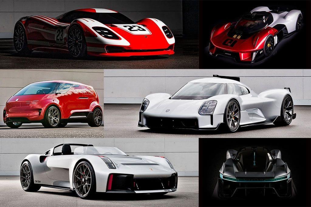 8 Mobil Konsep Porsche yang Akhirnya Dibocorkan ke Publik