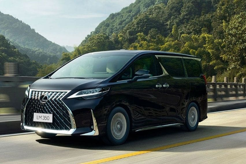 Lexus LM 350 is positioned as the ultra-luxurious van of your dreams