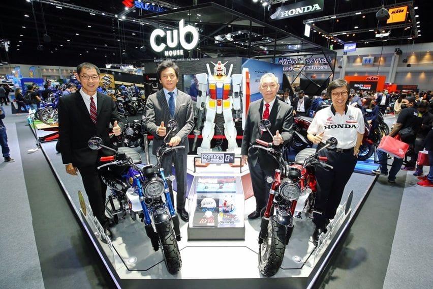 Menariknya Honda Monkey Gundam Edition, Terbatas Cuma 250 Unit