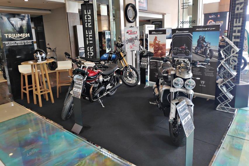 Triumph Sodorkan Program Cicilan 0 Persen, Hanya di IIMS Motobike Hybrid Show 2020