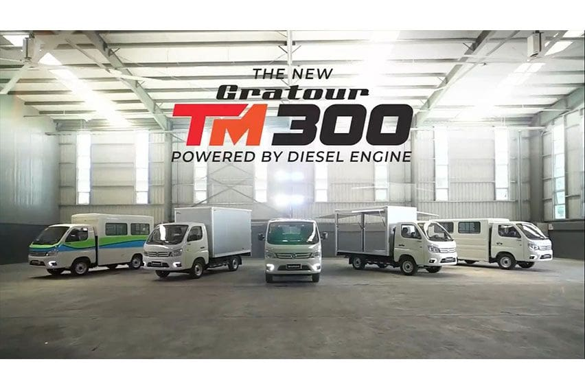 MIAS Wired: Foton PH embraces new normal with improved Gratour TM 300 line