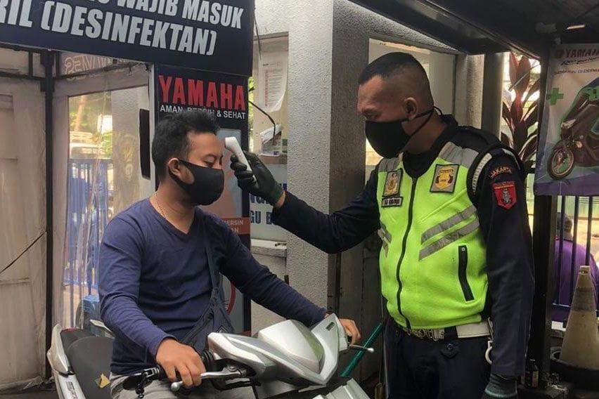 Dukung Pemerintah, Yamaha Edukasi Keselamatan ke Konsumen di Era New Normal