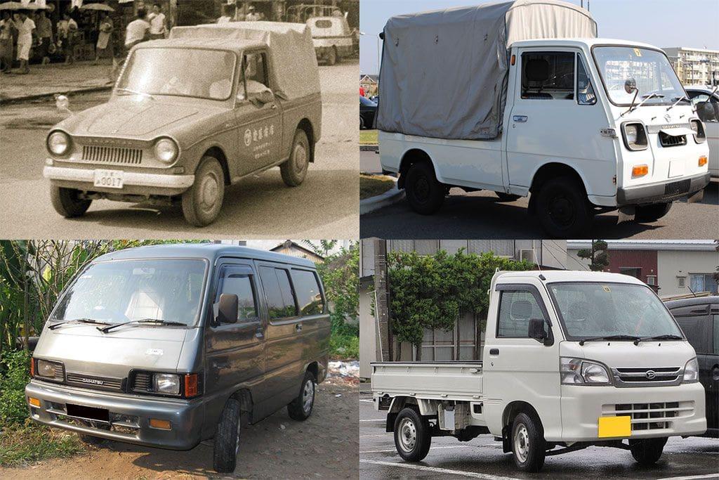 Rekap 60 Tahun Perjalanan Si Mungil Daihatsu Hijet
