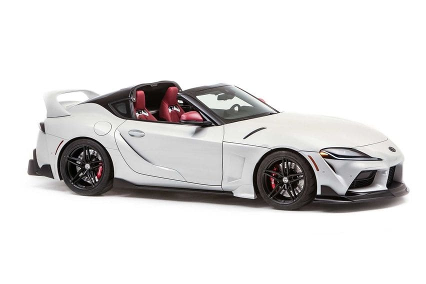 Toyota GR Supra Sport Top Mejeng di SEMA, Adaptasikan Visual Sang Leluhur Beratap Targa