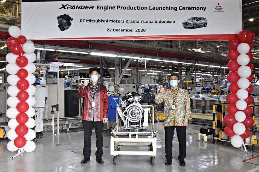 Mesin Mitsubishi Xpander Diproduksi Dalam Negeri, Capai Kandungan Lokal Sekitar 80 Persen