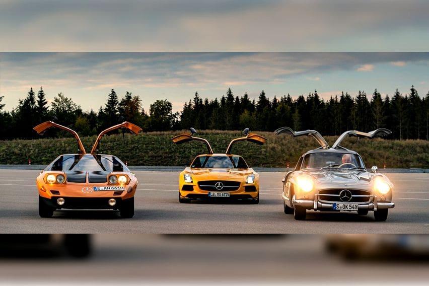 Berkenalan dengan Empat Model Mercedes-Benz Berpintu Gullwing
