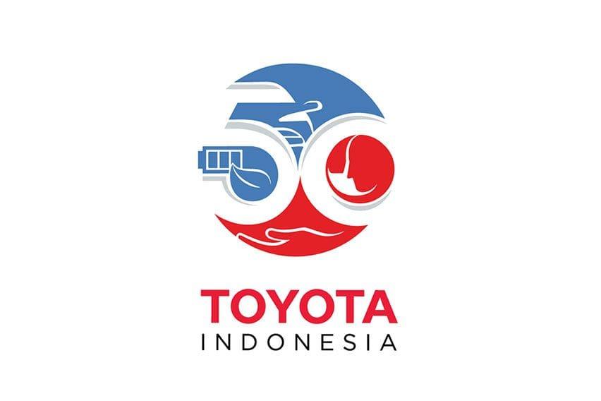 Toyota 50th Anniversary Logo