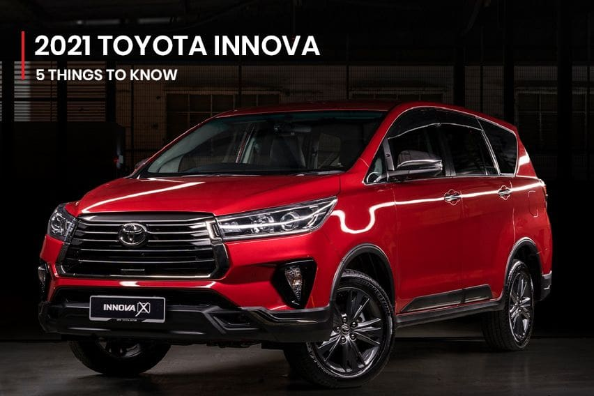 5 things you should know about the 2021 Toyota Innova facelift