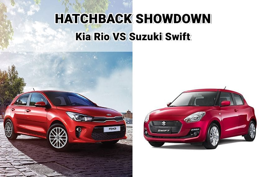 Hatchback power: Kia Rio vs. Suzuki Swift