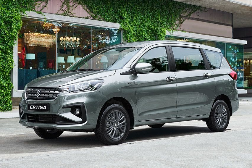 Suzuki Ertiga GLX: Popular people mover