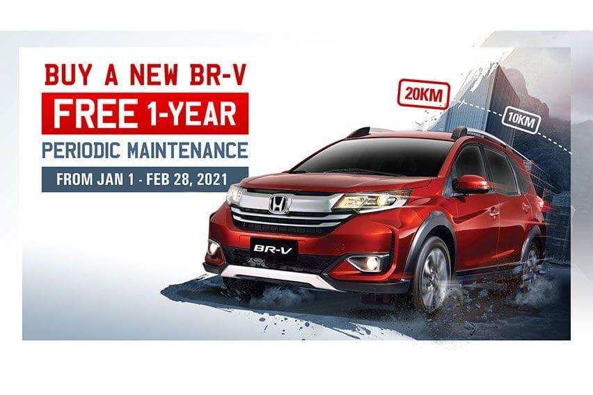 Free PMS, cash discounts await Honda BR-V buyers