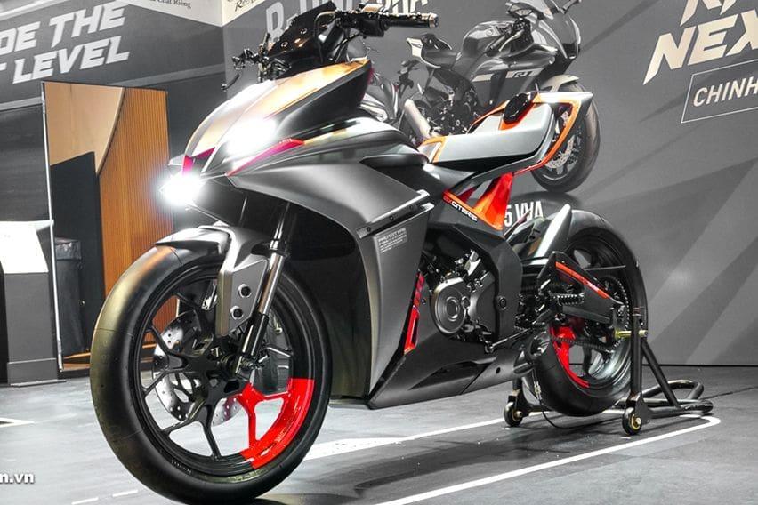 Yamaha F155, Prototipe MX King yang Terinspirasi Dari YZF-R1
