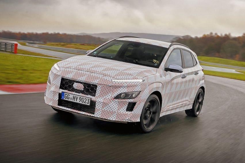 Teaser Hyundai Kona N Mulai Disebar, Dikonfirmasi Gendong Pemacu 2,0 liter Turbo