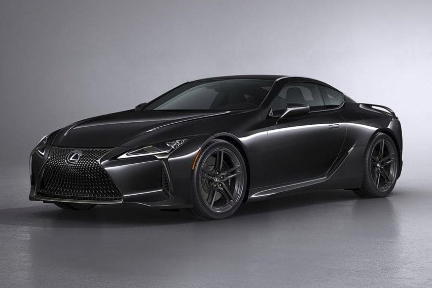 2021 Lexus LC 500 Inspiration Series revealed; limited to just 100 units