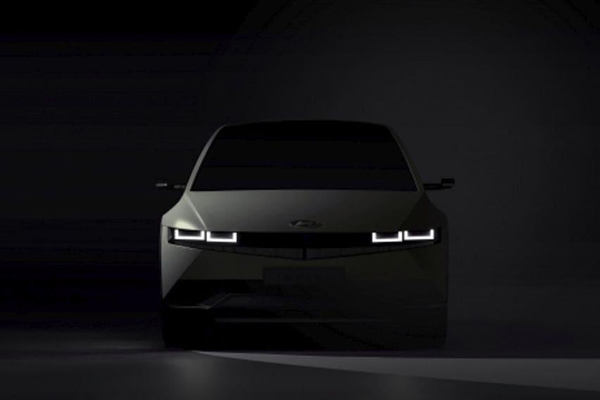 2021 Hyundai Ioniq 5 EV teased again ahead of debut