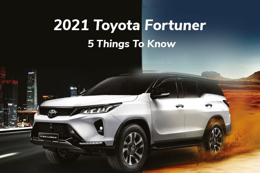 2021 Toyota Fortuner: 5 Things to know