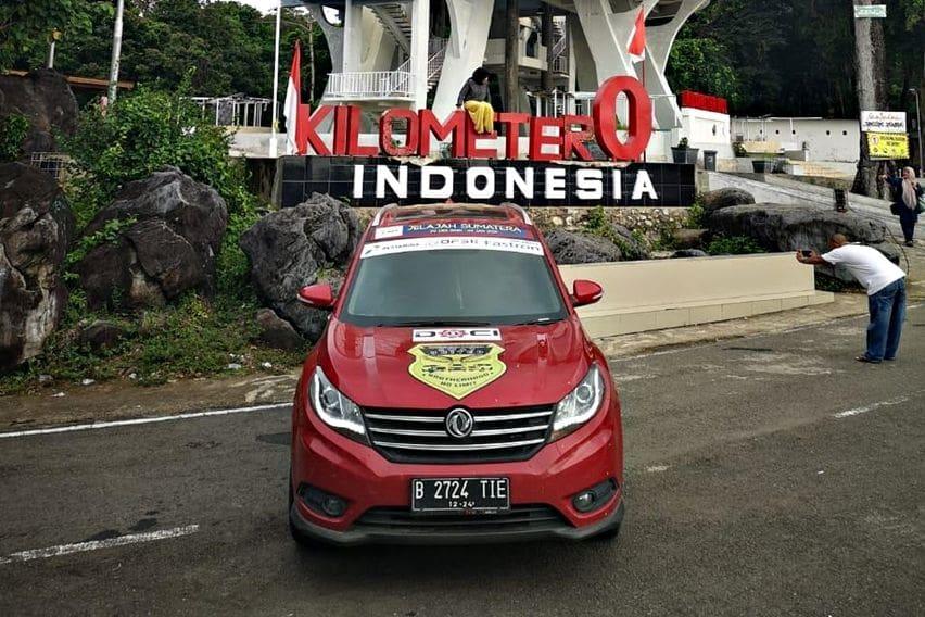 Sebuah Pembuktian, DFSK Glory 580 Sukses Jelajahi Sumatra