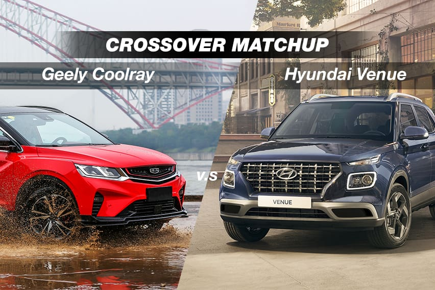 Spec showdown: Geely Coolray vs. Hyundai Venue