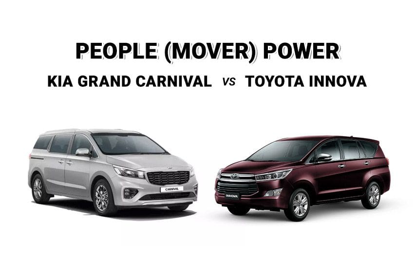 Spec showdown: Kia Grand Carnival vs. Toyota Innova
