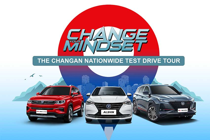 Here's the schedule of Changan PH's 1st nationwide test drive tour