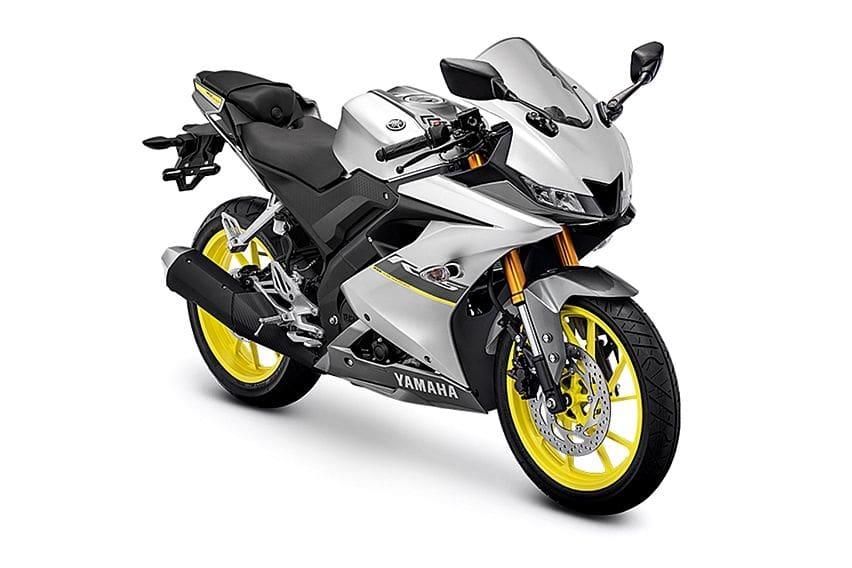 Yamaha R15 Matte Silver