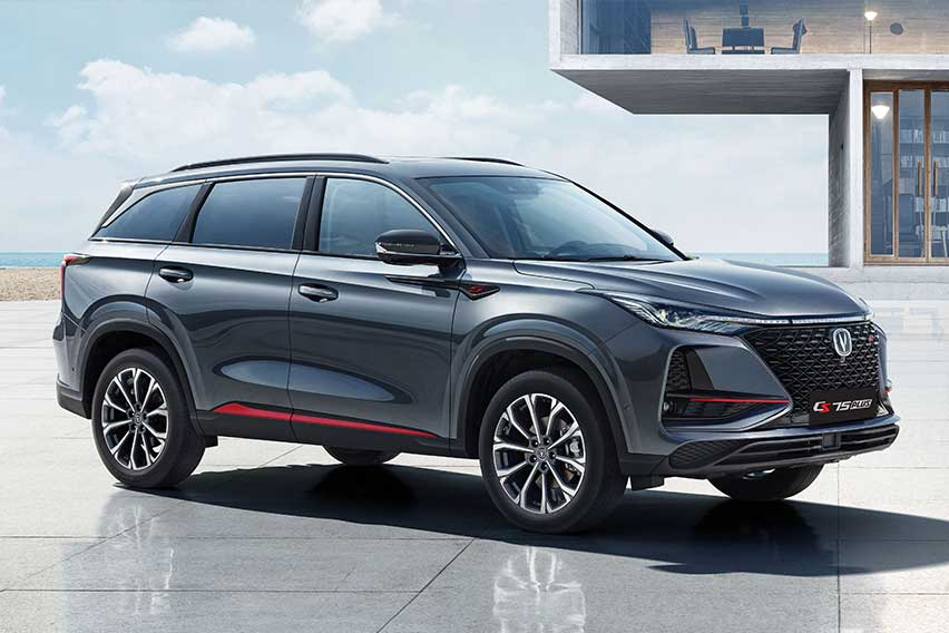 Sporty and smart: The Changan CS75 Plus