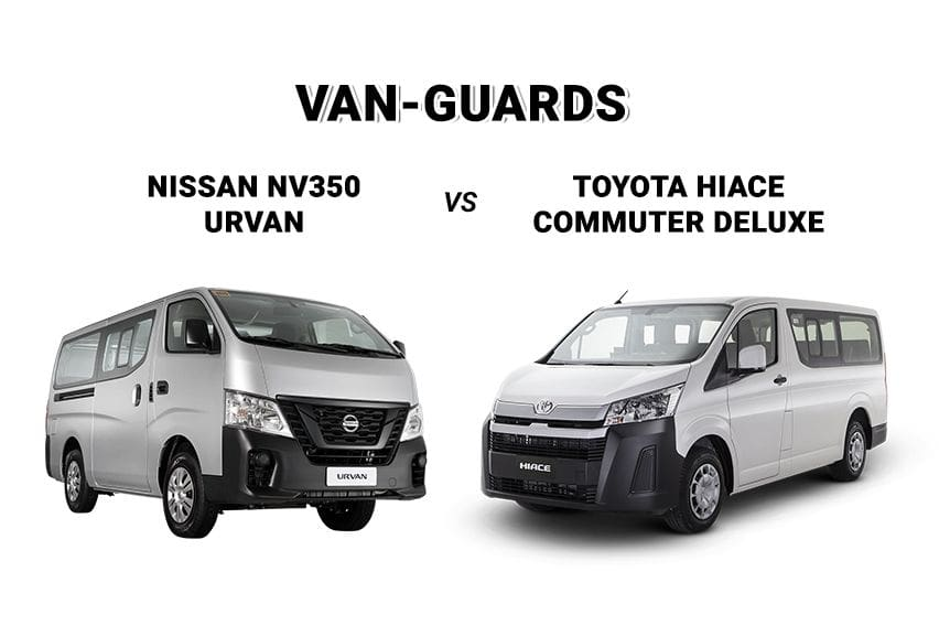 Moving more in comfort: The Nissan NV350 Urvan vs. Toyota Hiace Commuter Deluxe