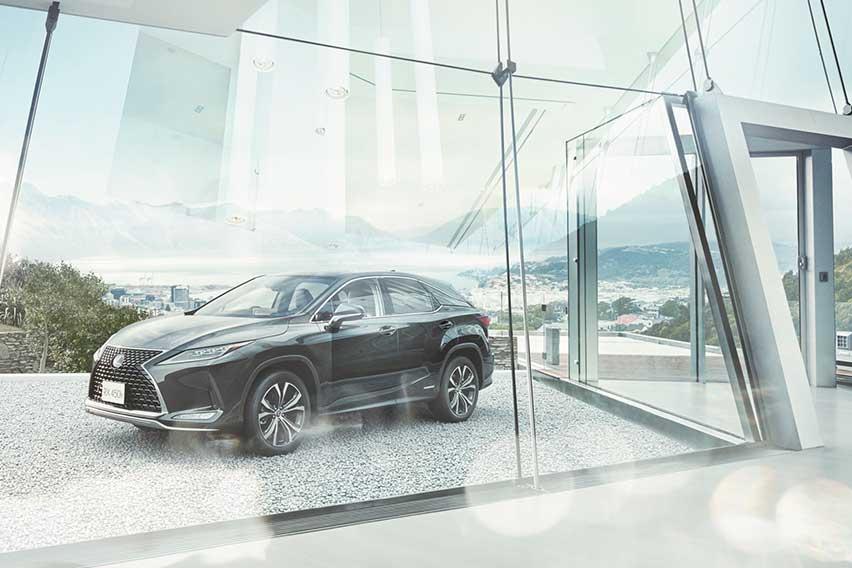 Luxurious thrill: The Lexus RX