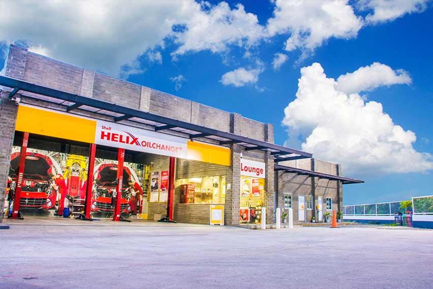 Shell opens first-ever facility constructed from eco-bricks