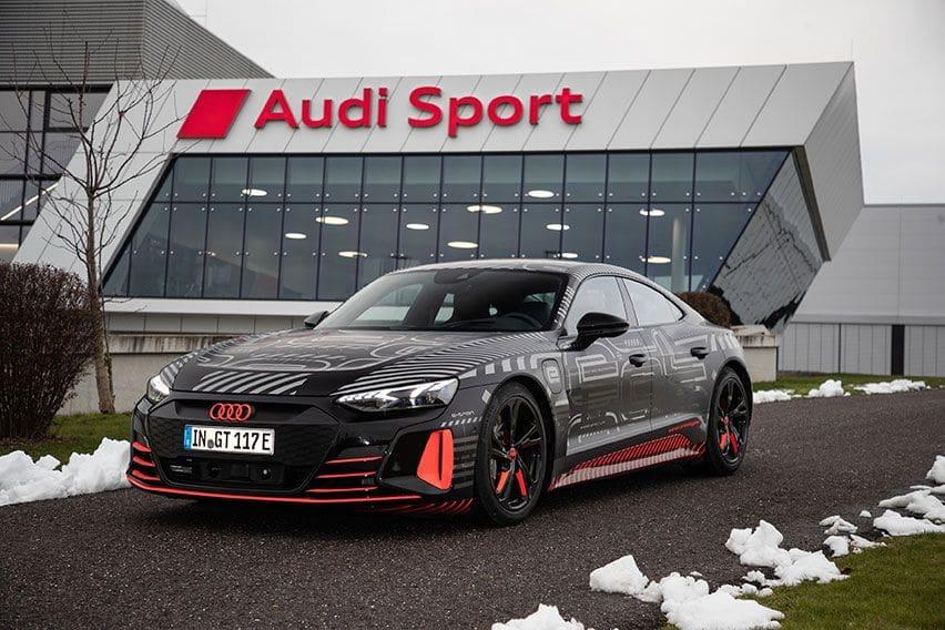 Sedan Sport Bertenaga Listrik Audi e-tron GT Siap Mendebut 9 Februari