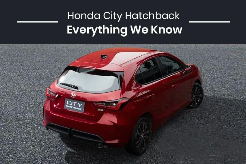 2021 Honda City Hatchback: Everything we know so far