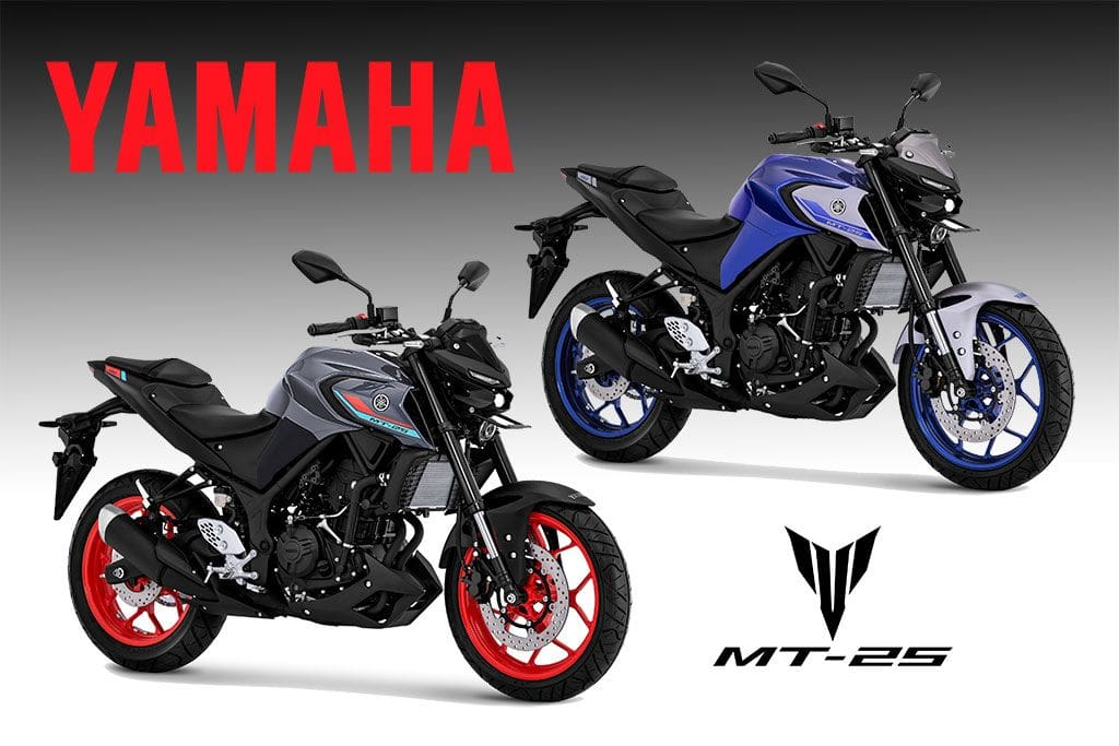 Yamaha MT-25 Baru Hadir dengan Warna Cerah, Ekspresi Modern dan Sporty