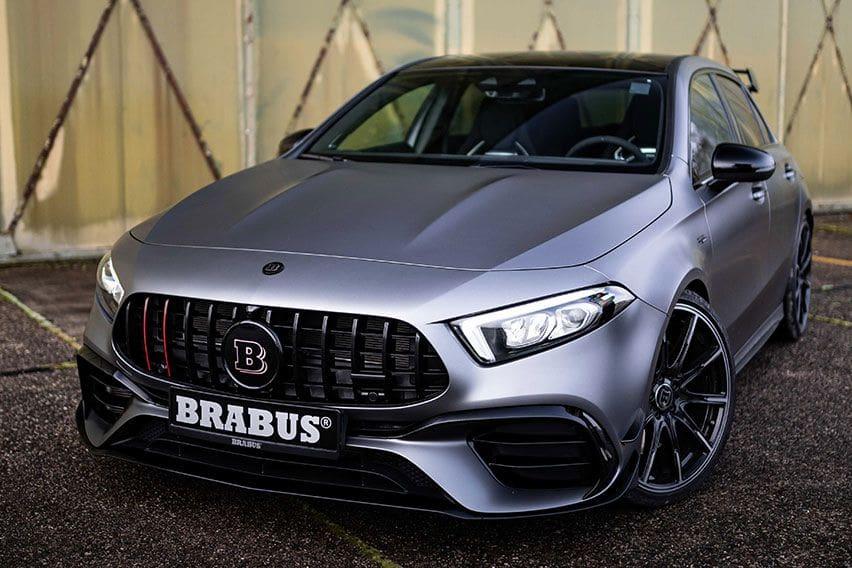 Brabus Modifikasi Mercedes-AMG A45 S Jadi Hyper Hatchback Bertenaga 444 HP