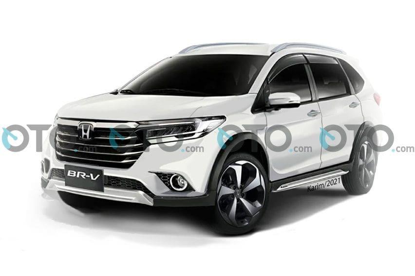 Seperti Inikah Wujud All New Honda BR-V 2021?