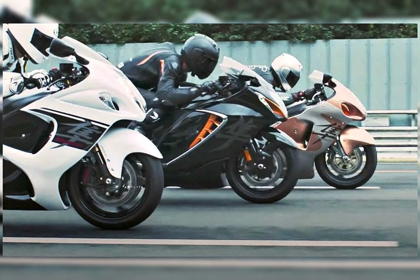 Video Resmi Suzuki Hayabusa 2021 Bocor Duluan