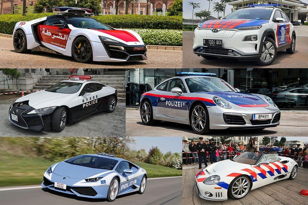 11 Supercar Keren yang Digunakan Polisi Dunia, Indonesia Pakai Apa?